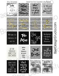 printable stencils quotes erin condren planner stickers printable stickers quote stickers