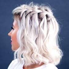 homecoming hair braids instructions how to waterfall braid short hair fashion hair and make up