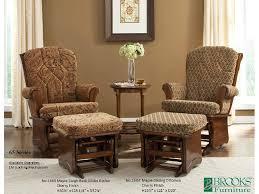 Living Room Glider | brooks furniture living room maple sleigh back glider rocker