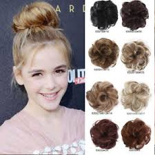 donut bun 9 color women s girl scrunchy donut bun ring hair extension