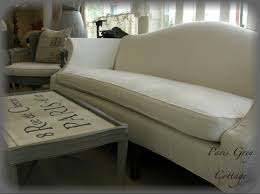 Best Slipcover Sofa by Slipcover For Camelback Sofa Best Home Furniture Decoration