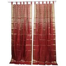 Sari Fabric Curtains Sari Fabric Curtains Uk Woodio