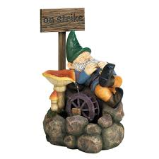 on strike gnome water fountain wholesale at koehler home decor