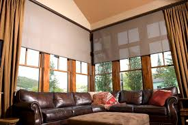 window treatments for large windows window covering ideas for large windows quecasita