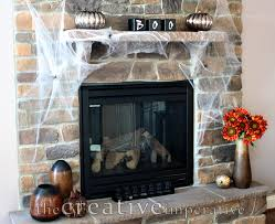 view halloween fireplace decorations decor modern on cool gallery