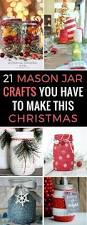 21 festively fun christmas mason jar crafts for the holidays
