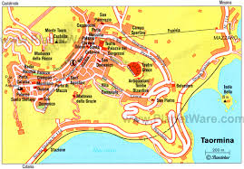 Cable Car Map 10 Top Tourist Attractions In Taormina U0026 Easy Day Trips Planetware