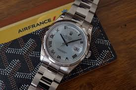 rolex white gold oyster bracelet images Rolex oyster perpetual day date series copy watches uk online jpg