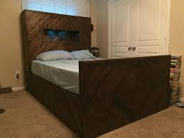 Wood Bed Frame With Drawers Plans 20 Diy Bed Frames That Will Give You A Comfortable Sleep U2013 Home