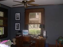 blue wall with dark wood trim for the home pinterest dark