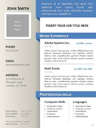 Resume Vitae Template Clean Resume Cv Template For Powerpoint