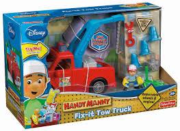 amazon fisher price disney u0027s handy manny fix tow truck