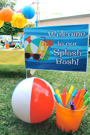 pool party ideas splash bash pool party huggies swimmers s party