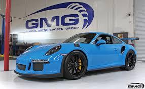 blue porsche mexico blue porsche 991 gt3rs gmg racing