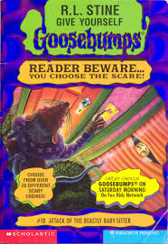 goosebumps world attack of the beastly baby sitter