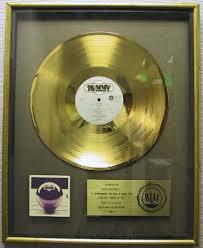gold photo album gold discs