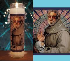 jerry garcia prayer candle the grateful dead candle vigil