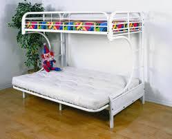 Metal Futon Bunk Bed Easy Diy Bunk Bed With Futon Home Designing