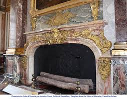 exceptional antique oak wood fireplace made after the model of the