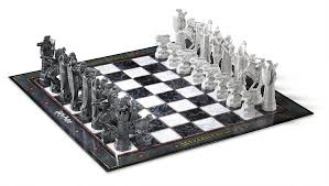 amazon com harry potter wizard chess set toys u0026 games