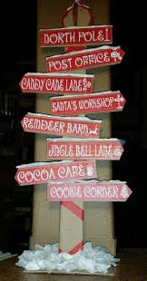 santa land here lighted sign flying santa s workshop sign by seeuudee christmas ideas