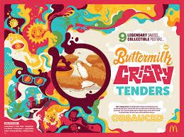 Mcdonalds Invitation Card Mcdonald U0027s Introduces New Buttermilk Crispy Tenders And Celebrates