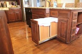 garbage can under the sink sliding trash can under sink pull out garbage can under sink far