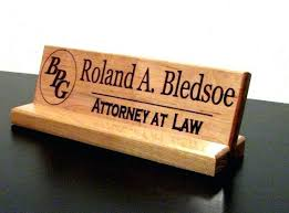 Office Desk Name Plate Custom Desk Name Plates Awesome Desk Name Plate Custom Wooden Desk