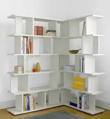 stylish and modern corner bookcase try it u2014 doherty house
