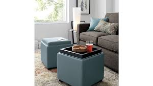 lovely cube storage ottoman with decor of ottoman storage cube