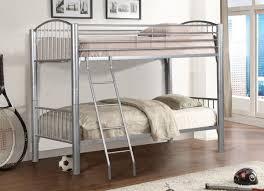 Metal Frame Loft Bed With Desk Bunk Beds Metal Bunk Beds Twin Over Twin Loft Bed With Desk And