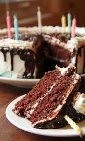 black devils food cake black midnight cake dark chocolate