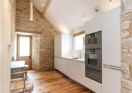 cuisine blanche mur mur de interieur mur en intacrieur deco mur cuisine