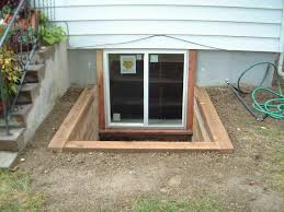 basement egress window with wrought iron gate design furniture