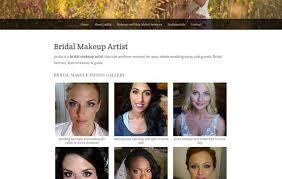 bridal makeup artist websites freelance web developer portfolio adrienne palmiere virginia