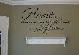 family decals trading phrases home friends family wall decal