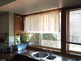 new kitchen curtains u2014 no sewing required u2013 simple crafty life