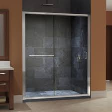 sliding shower doors without bottom track the variations of