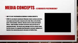 postmodern themes in film independent research task memento postmodern study a2 media studi