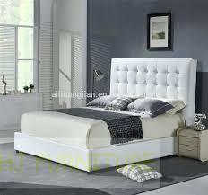 beds modern white leather platform beds colour genuine bed frame
