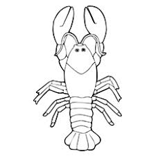 lobster coloring 13 free coloring page site perfect marine animal