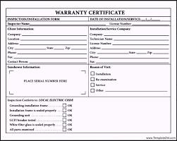 warranty certificate template pdf templatezetwarranty