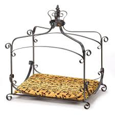 Princess Dog Bed With Canopy by Amazon Com Luxury Royal Princess Iron Scroll Canopy Dog Cat Pet