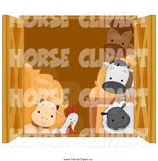 A Cartoon Barn Royalty Free Cartoon Stock Horse Designs