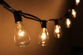 10 socket outdoor string light kit w st38 bulbs 10ft black