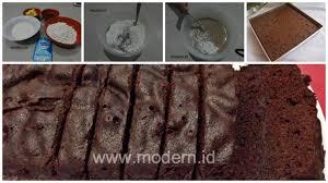 cara membuat brownies kukus simple resep brownies kukus ekonomis cukup 15 rb tanpa telur tanpa mixer