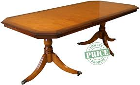 Yew Dining Table And Chairs Yew And Mahogany Reproduction Inadam Dining Tables A1 Furniture