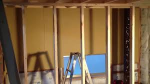 Diy Home Renovation by Walk In Closet Walls Diy Home Renovation Day 45 Youtube