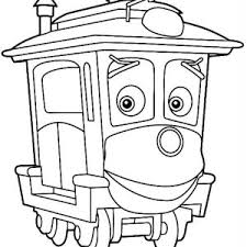 wilson from chuggington coloring page wilson from chuggington