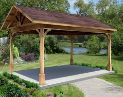 Pergola Designs With Roof by Pergola Plans With Pitched Roof Mediterranean Compact Pergola